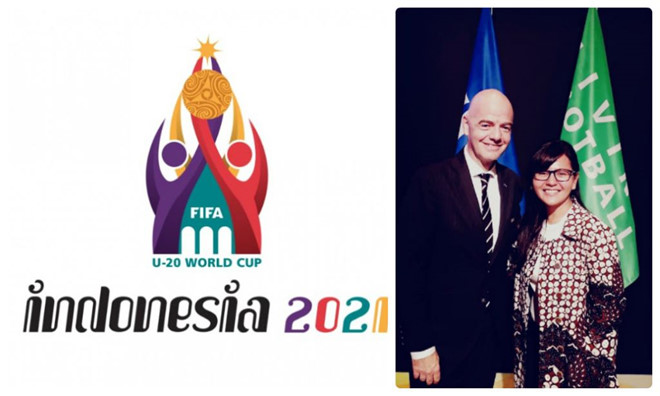 Indonesia was officially awarded FIFA to host the U.20 World Cup in 2021