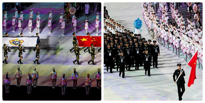 Chinese sports are ugly again for cheating at the Military Olympics