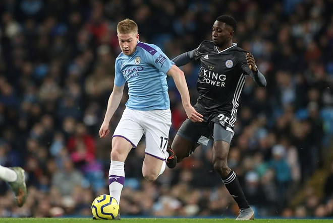 De Bruyne brilliantly helped Man City defeat Leicester City